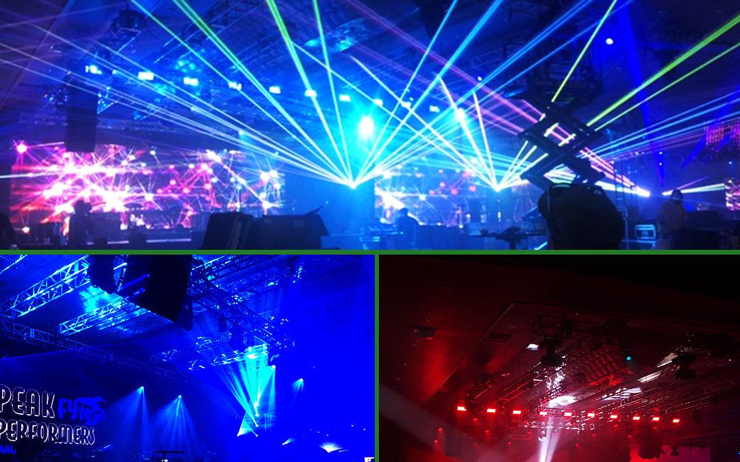 Laser Light Show in Maui!