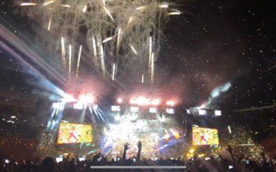 Bruno Mars XXIVk Magic Tour – Time Lapse Concert Setup