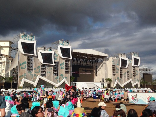 Arashi in Ko'olina! Hawaii's Largest Stage ever constructed!