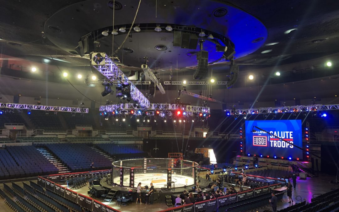 Bellator MMA Fight – Blaisdell Arena