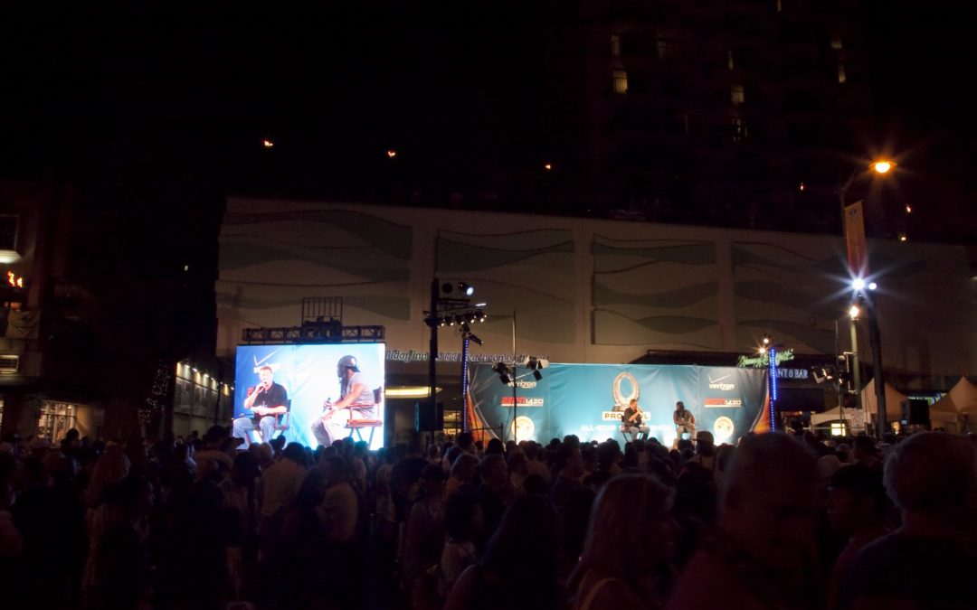 Pro Bowl 2011 coverage in Waikiki