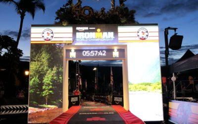 Iron Man 2018 Finish Line – LED Wall