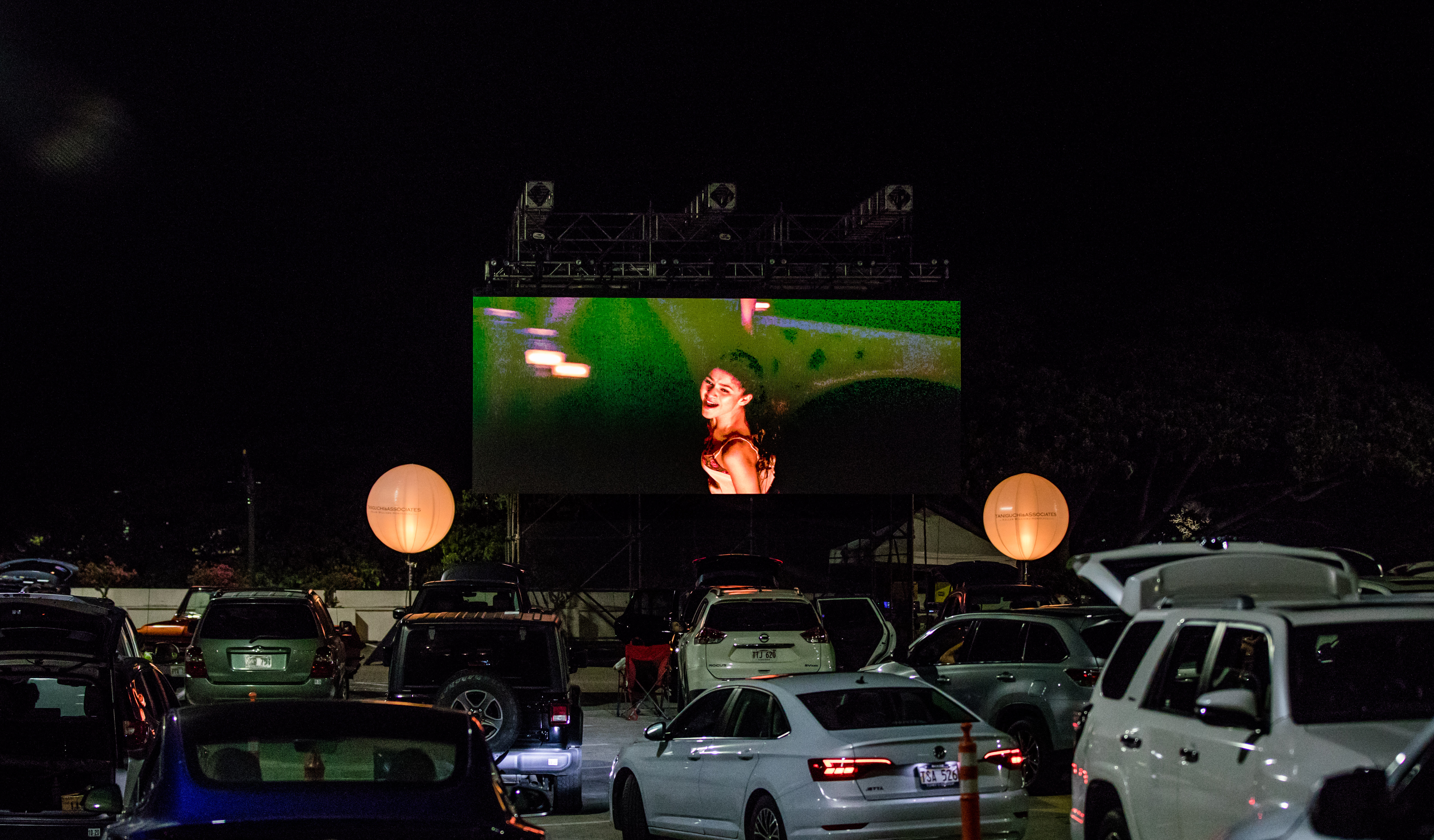 Drive Inn Movie Night at Ala Moana