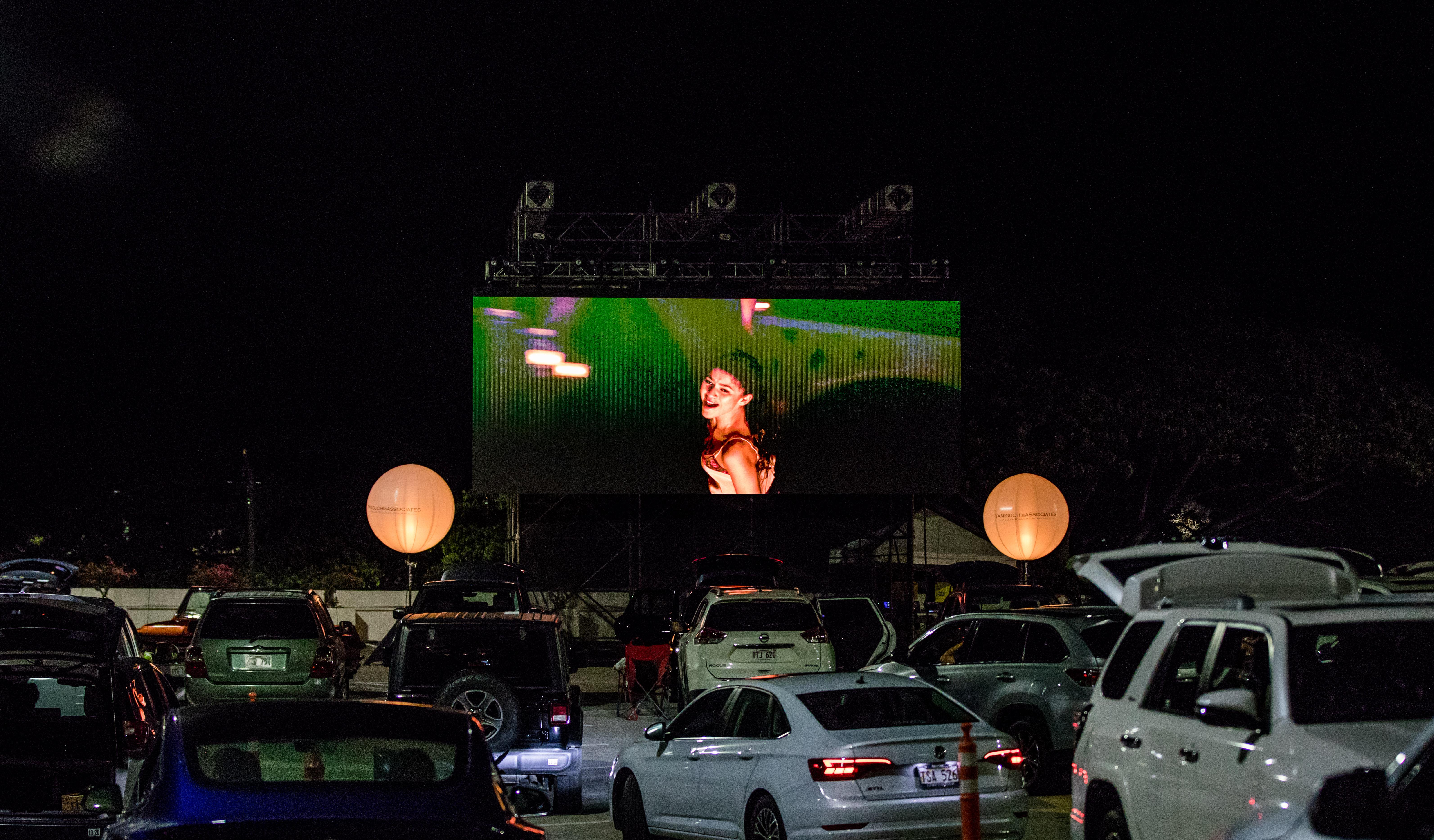 Drive Inn Movie Night at Ala Moana